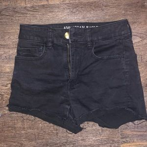 American Eagle Super Stretch High Rise Shorts